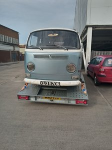 1972 Vw t2 earlier bay window