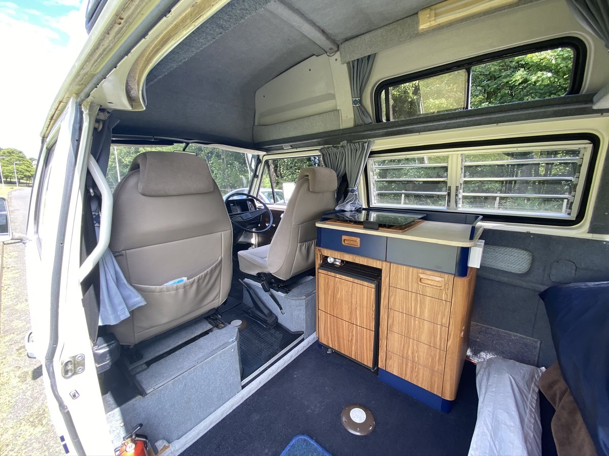 1984 Volkswagen T25 1.9l water cooled Campervan For Sale (picture 4 of 6)