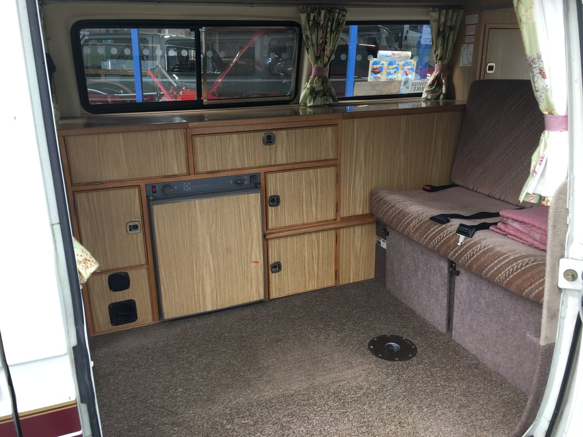 1989 VW T25 (T3) Autosleeper Trident Campervan For Sale (picture 3 of 6)