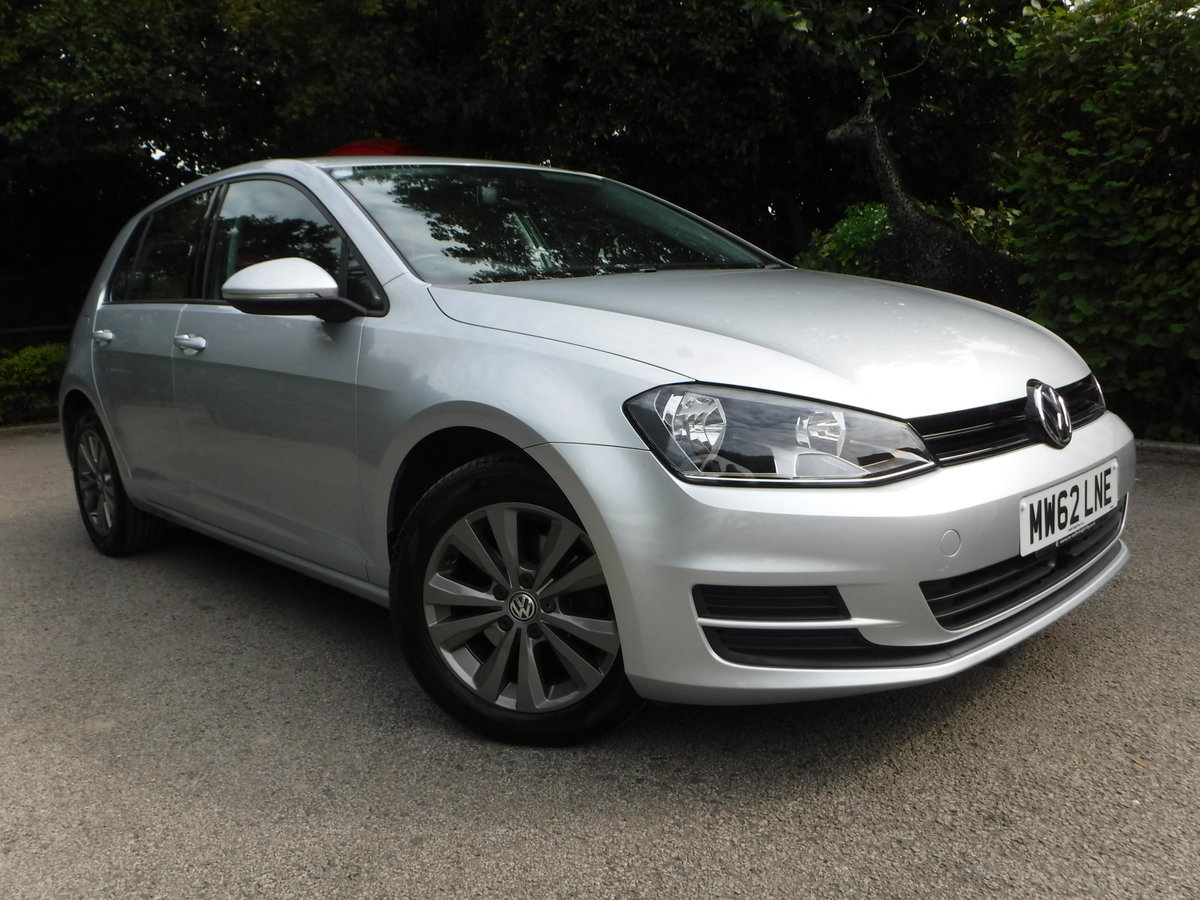 2013 Volkswagen Golf, 1.4 TSI SE, Low Mileage, Beautiful example For Sale (picture 1 of 6)