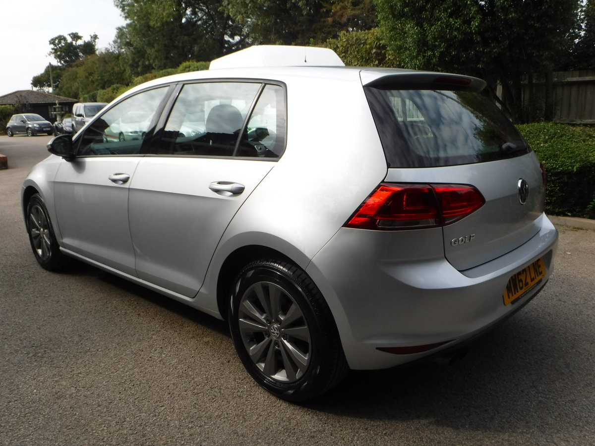 2013 Volkswagen Golf, 1.4 TSI SE, Low Mileage, Beautiful example For Sale (picture 3 of 6)