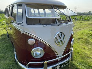Vw 13 window deluxe 1966 lhd