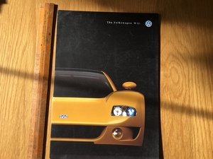 1998 Volkswagen W12 brochure For Sale
