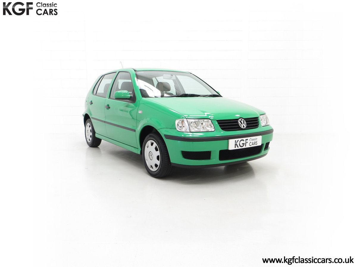 2000 A Vivid Volkswagen Polo 1.4 E with Just 13,462 Miles SOLD (picture 1 of 24)
