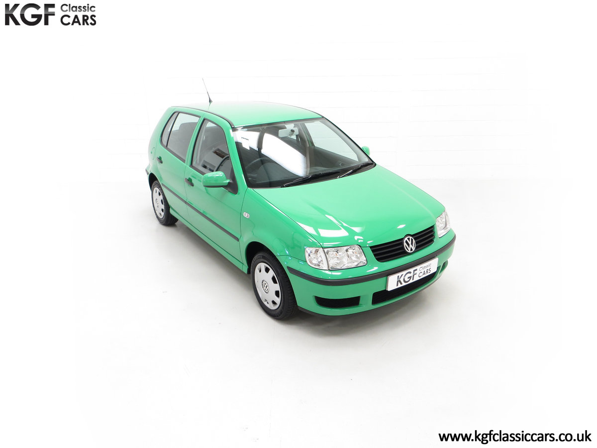 2000 A Vivid Volkswagen Polo 1.4 E with Just 13,462 Miles SOLD (picture 2 of 24)