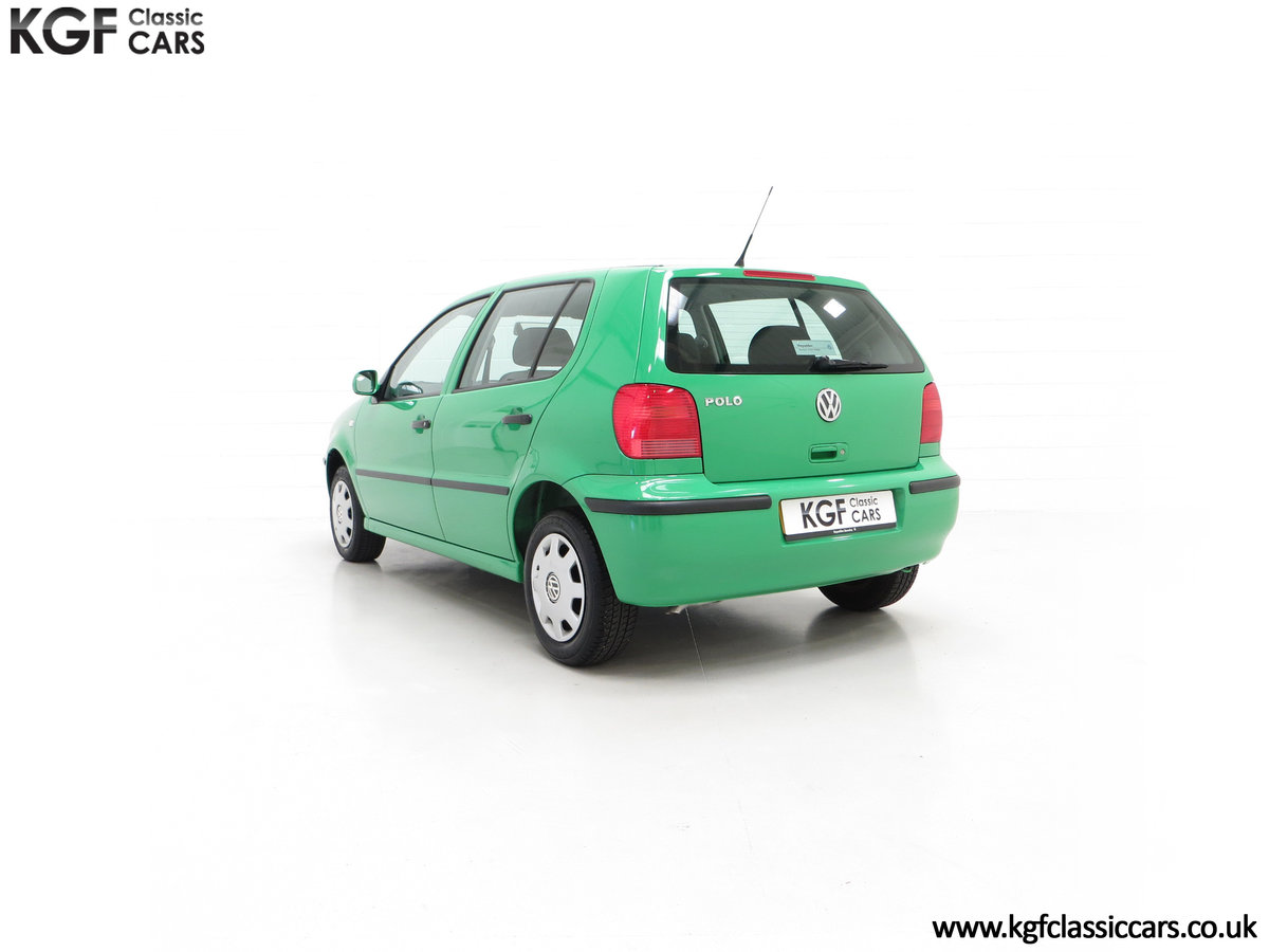 2000 A Vivid Volkswagen Polo 1.4 E with Just 13,462 Miles SOLD (picture 8 of 24)