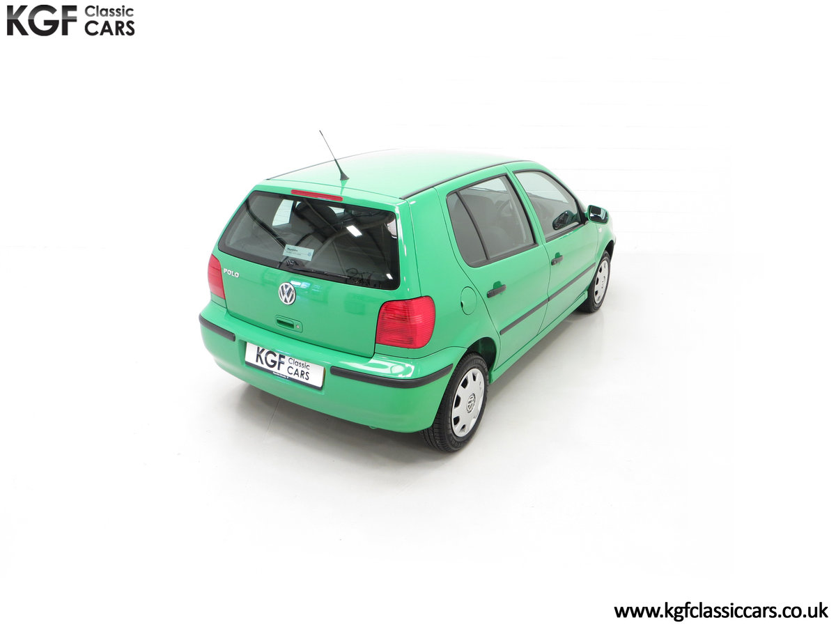 2000 A Vivid Volkswagen Polo 1.4 E with Just 13,462 Miles SOLD (picture 12 of 24)