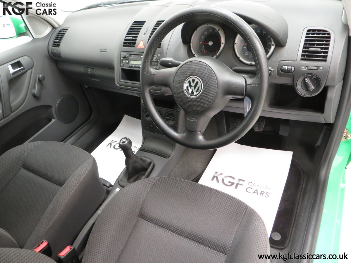 2000 A Vivid Volkswagen Polo 1.4 E with Just 13,462 Miles SOLD (picture 18 of 24)