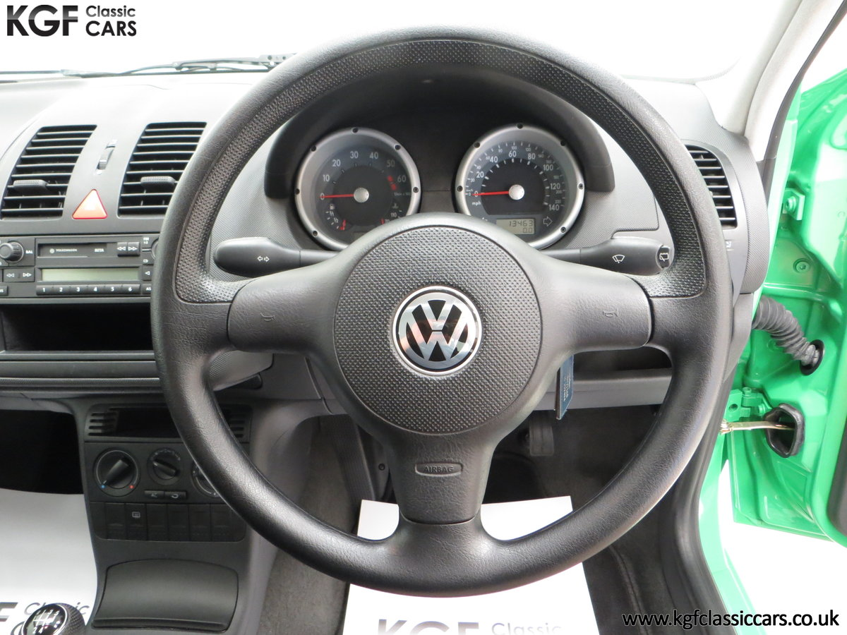 2000 A Vivid Volkswagen Polo 1.4 E with Just 13,462 Miles SOLD (picture 24 of 24)