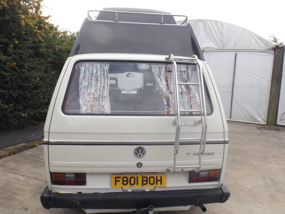 1989 VW high-top transporter campervan For Sale (picture 6 of 6)