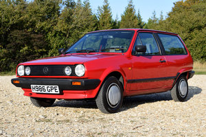 VW Polo CL with one owner and 26,000 miles SOLD!