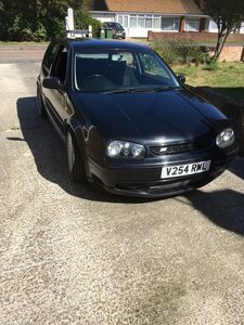 Volkswagen Golf Mk4. 1.8 Turbo. Black.