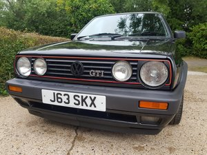 VW Golf mK2 GTI 8v run out
