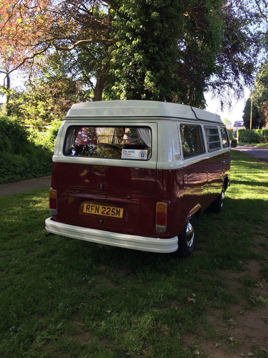 1974 VW T2 Westfalia in lovely condition For Sale (picture 2 of 5)