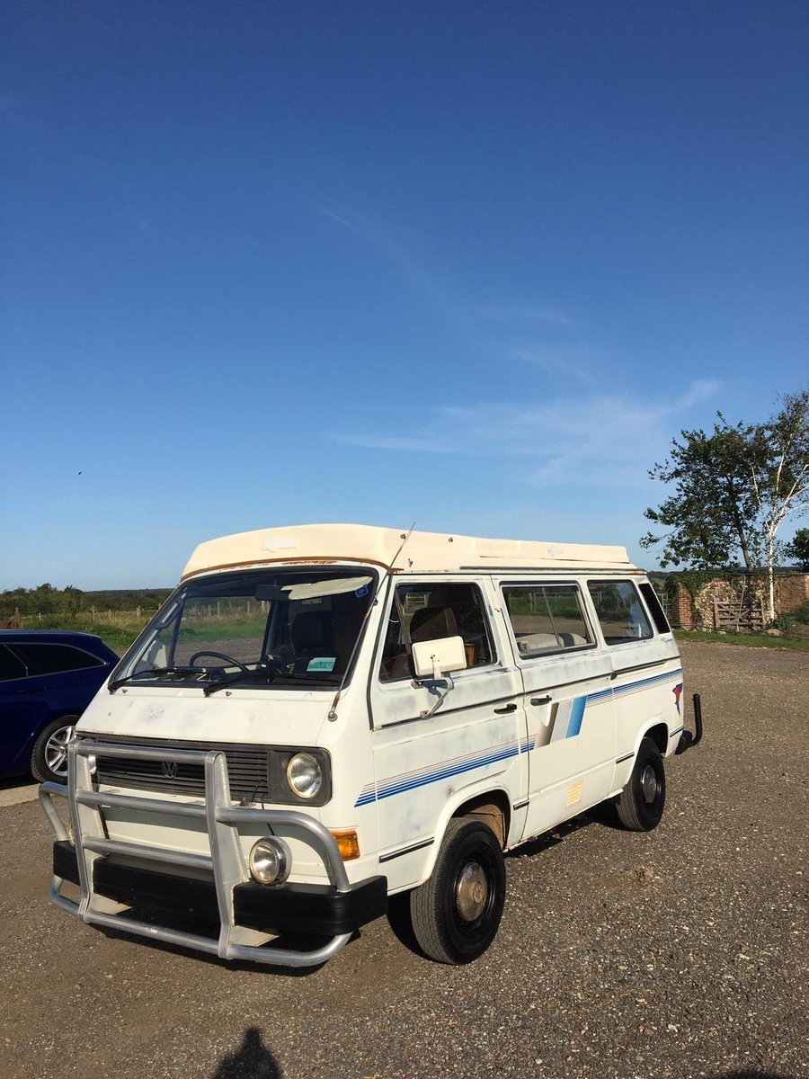 1982 VW T25 Aircooled Auto Campervan For Sale (picture 1 of 6)