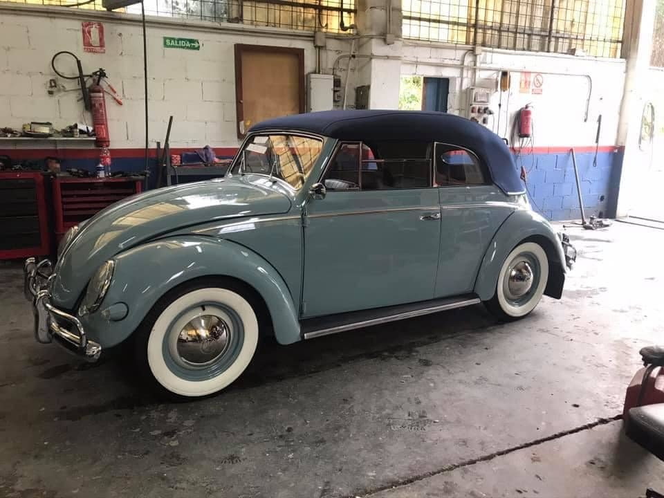 Vw beetle  oval cabrio 1956 100% restored For Sale (picture 1 of 1)
