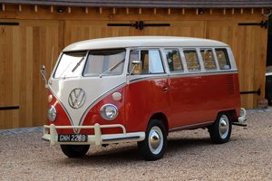 Picture of 1964 VW Split Screen '13 Window Deluxe' Camper Van.  For Sale