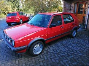 1991 VW Golf MK 2, 1.6 Driver