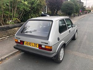 Mk1 Golf GTI Campaign Edition