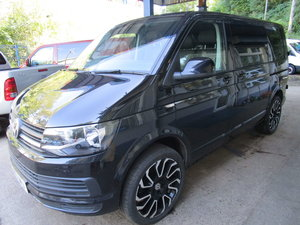 2007 TRANSPORTER T28 T6 5 SEATER KOMBI WITH BRAND NEW LEATHER INT For Sale