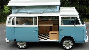 1973 VW T2 WESTFALIA RIVERA CAMPER VW MAIN DEALER RESTORED AS NEW For Sale