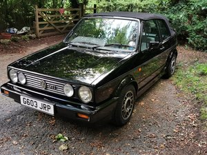 1990 Mk1 Golf GTI Karmenn Cabriolet For Sale