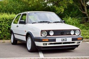 1991 VOLKSWAGEN VW GOLF MK2 1.8 8V 3DR WHITE  74,000 MILES