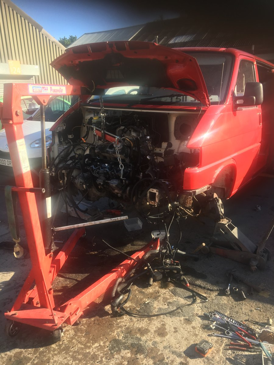 1999 VW Transporter Reconditioned engine and gearbox For Sale (picture 4 of 6)