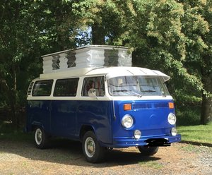 1976 Reluctant sale VW T2 Camper  For Sale