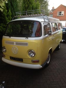 1972 VW Campervan Type 2 Bay Window For Sale