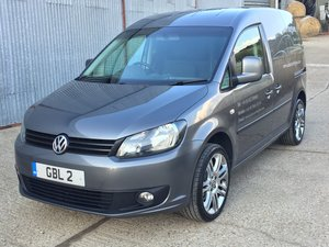 Stunning 2015 VW Caddy C20 Highline SWB 1.6 Tdi