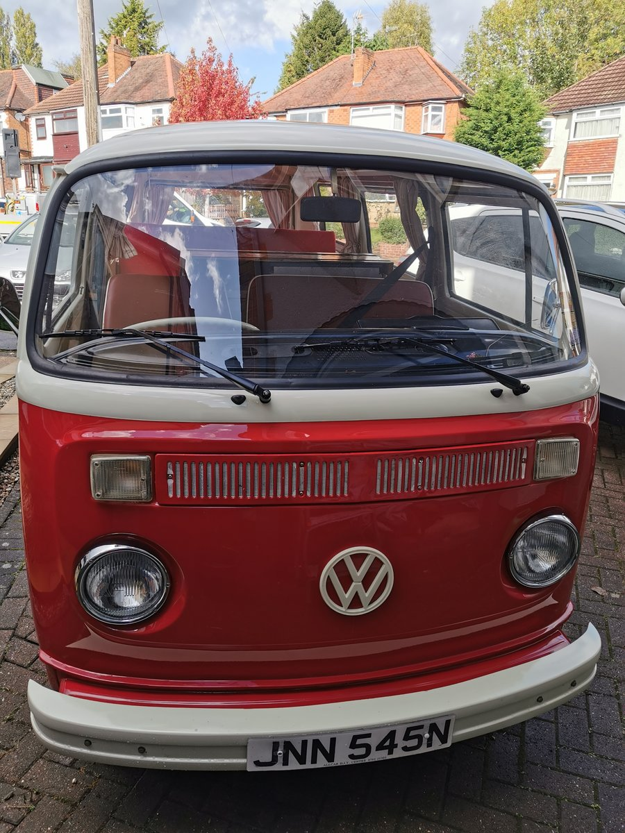 1975 VW T2 Camper Van 1800cc Automatic  SOLD (picture 1 of 6)