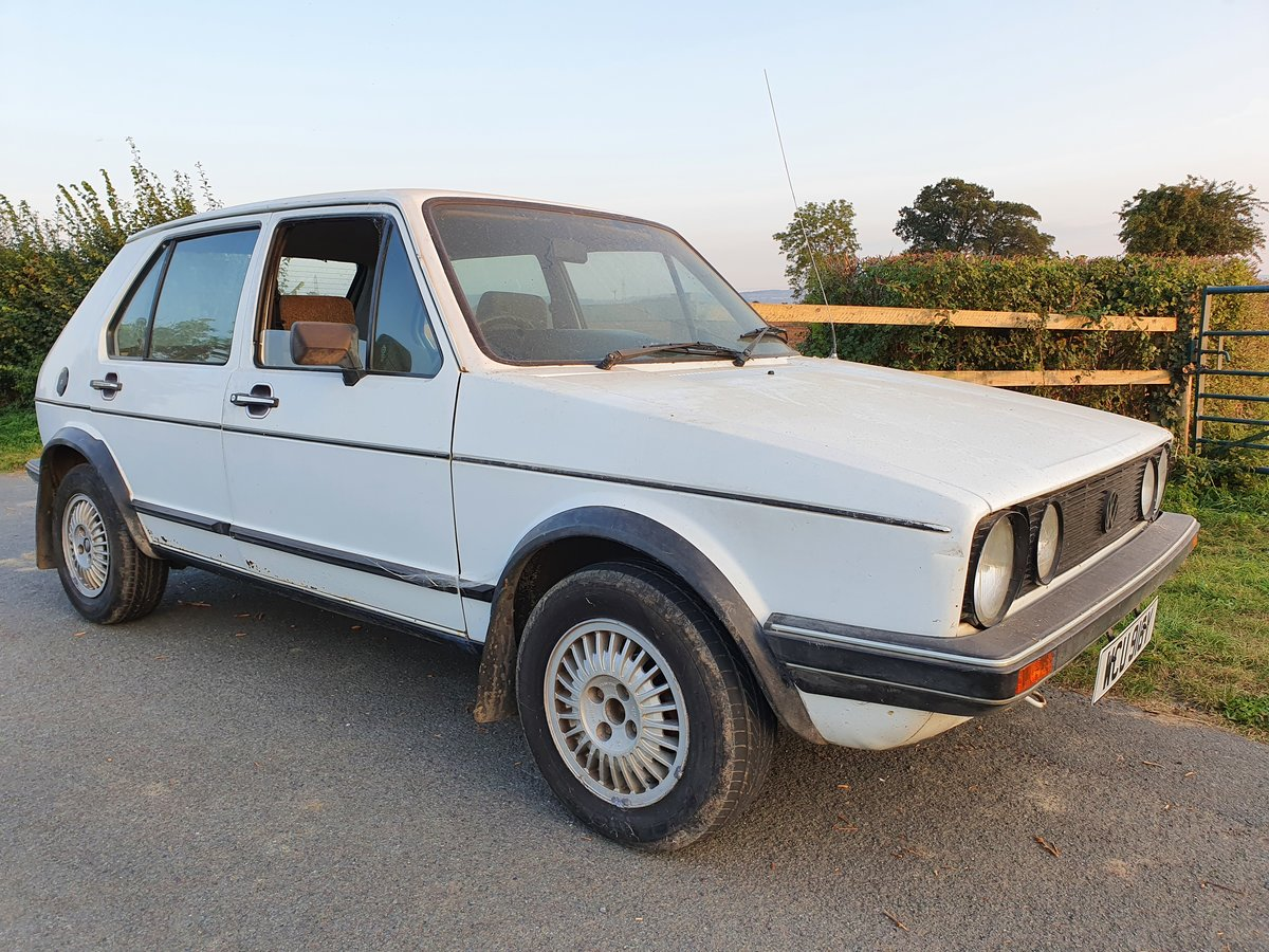 1983 Rhd VW MK 1 Volkswagen Golf GTi 1.8 5 door MOT For Sale (picture 2 of 6)