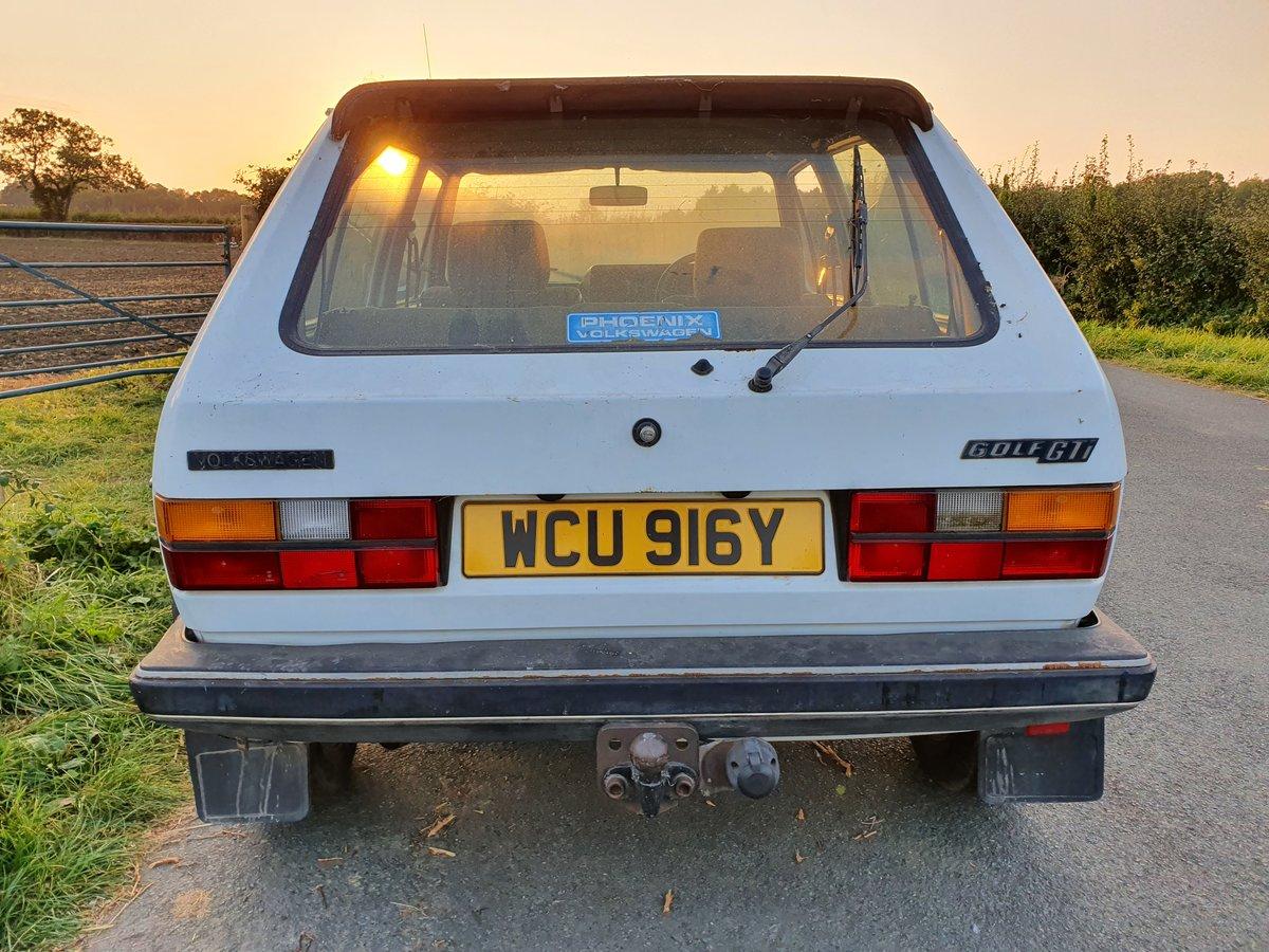 1983 Rhd VW MK 1 Volkswagen Golf GTi 1.8 5 door MOT For Sale (picture 3 of 6)