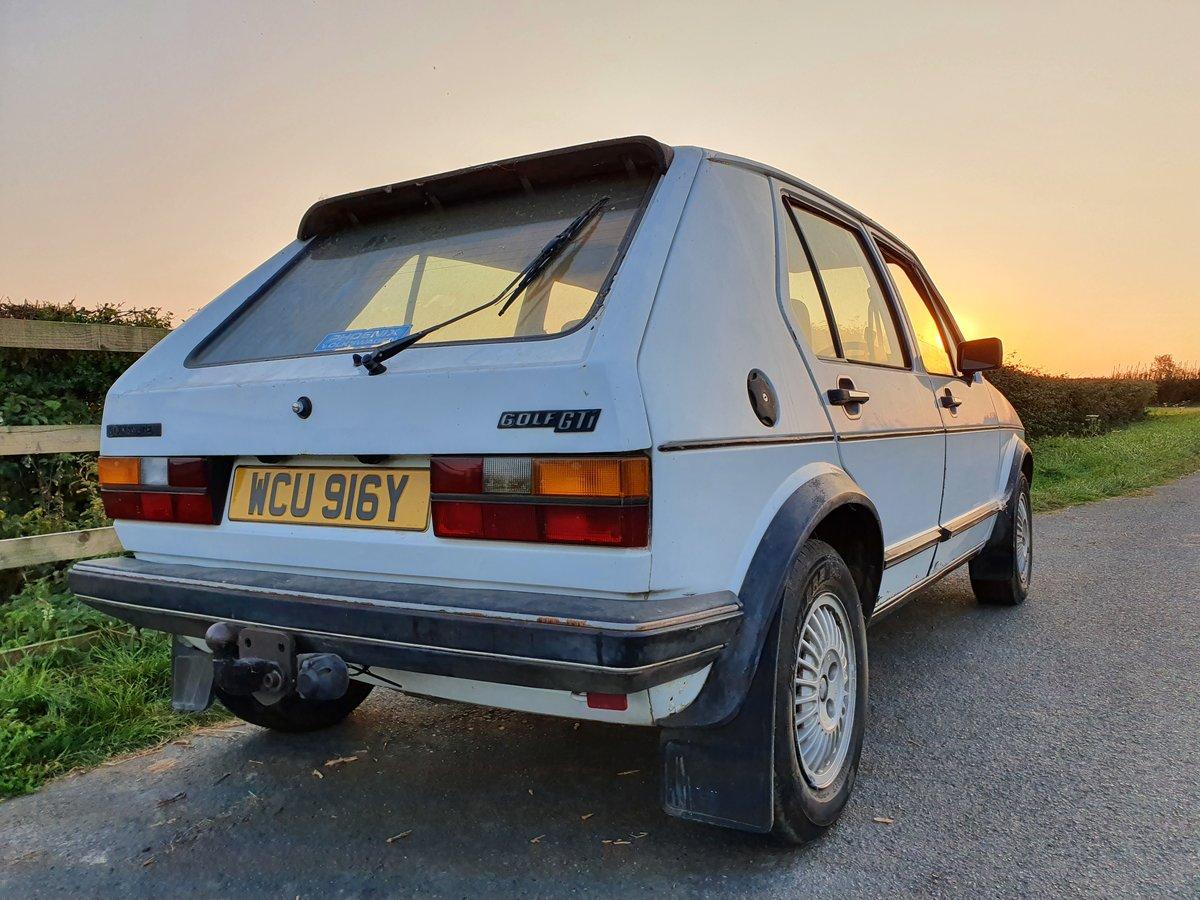1983 Rhd VW MK 1 Volkswagen Golf GTi 1.8 5 door MOT For Sale (picture 4 of 6)