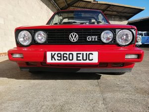 Gorgeous mk 1 golf gti karmann cabrio