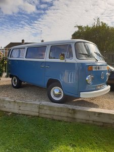 VW type two campervan