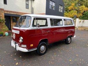 £12,995 : 1972 VW TRANSPORTER MOTOR CARAVAN