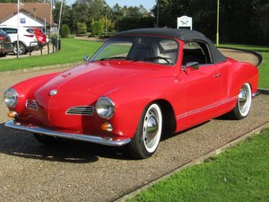 Picture of 1968 VW Karmann Ghia Convertible LHD at ACA 7th November
