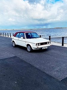 Picture of 1988 Folks wagon golf Mk1 convertible