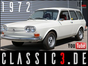 Picture of 1972 VOLKSWAGEN 411 LE VARIANT TYPE4 ORIGINAL & BEAUTIFUL