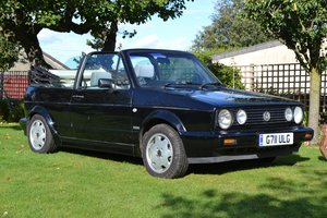 Picture of 1990 Volkswagen Golf GTi Cabriolet For Sale by Auction