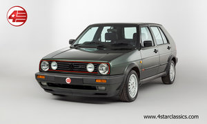 VW Golf GTI Mk2 /// Oak Green Big Bumper /// 118k Miles