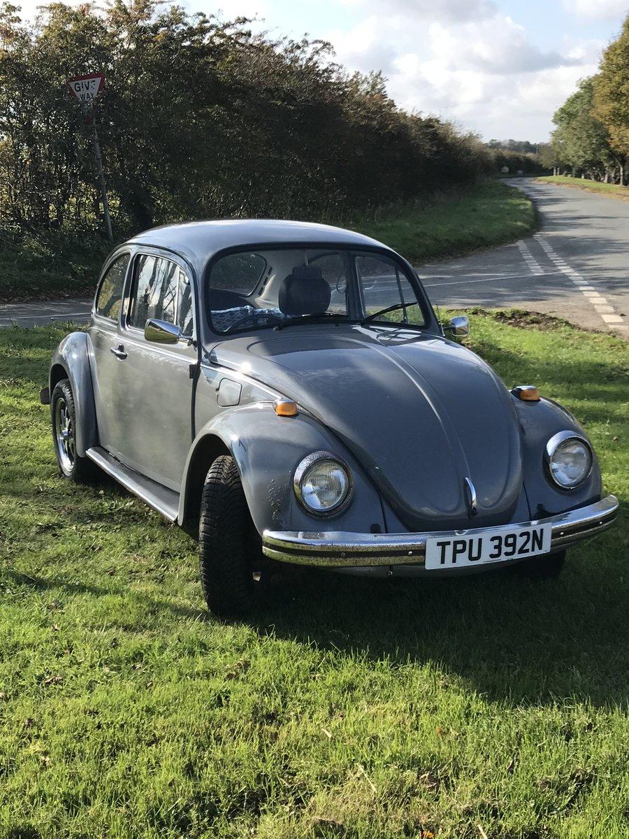 Classic 1200 VW Beetle New MOT and service
