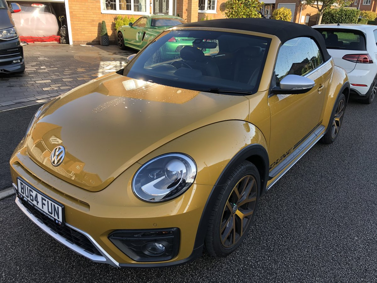 2017 Limited edition VW Beetle Dune Cabrio Diesel DSG For Sale (picture 1 of 6)