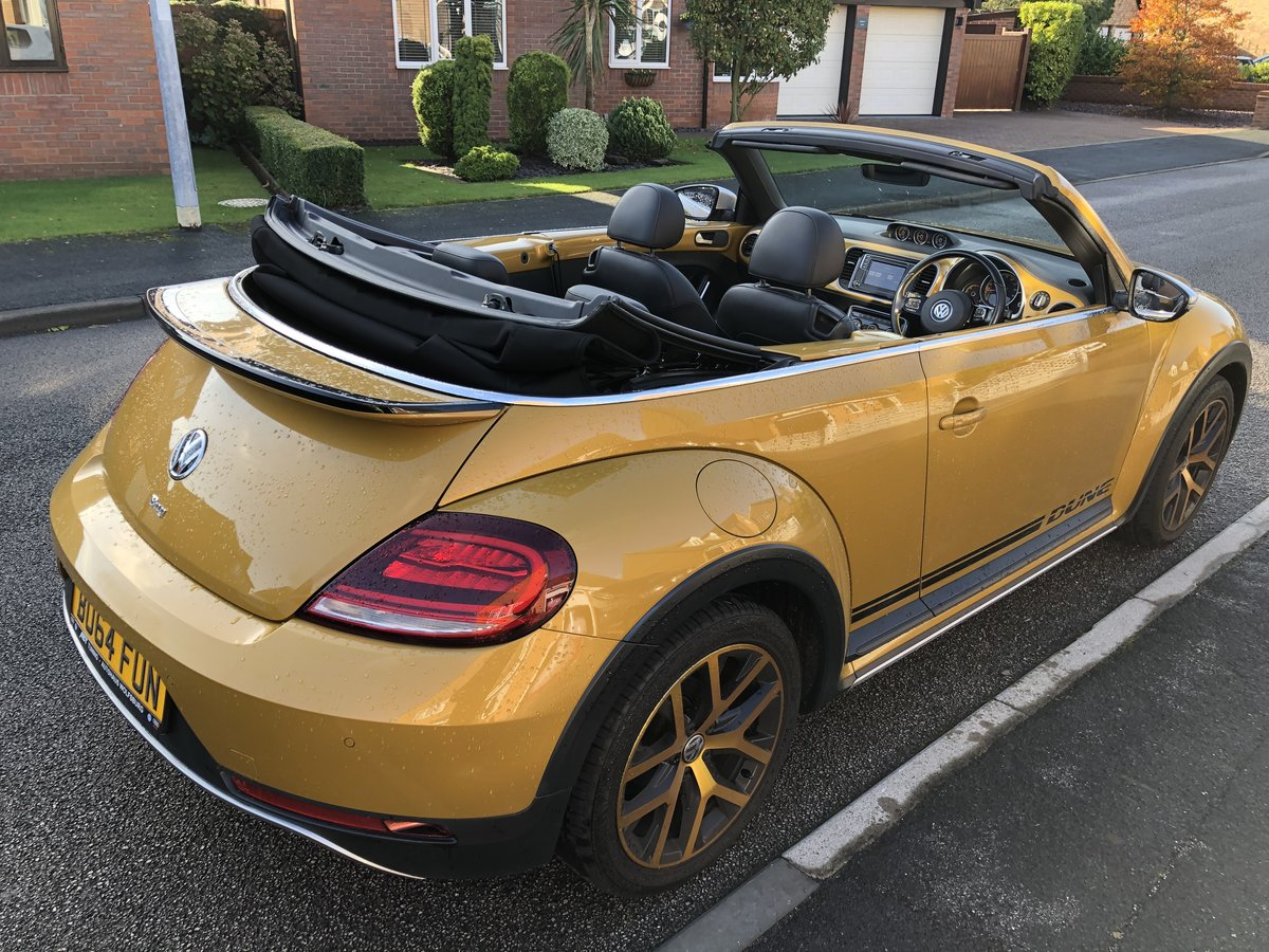 2017 Limited edition VW Beetle Dune Cabrio Diesel DSG For Sale (picture 3 of 6)