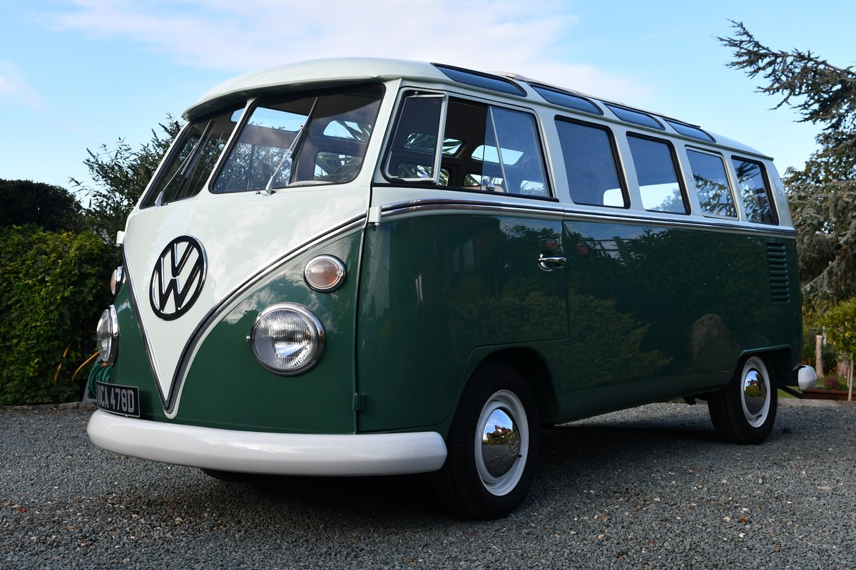 1966 VW Samba 21 Window Delux For Sale (picture 1 of 6)