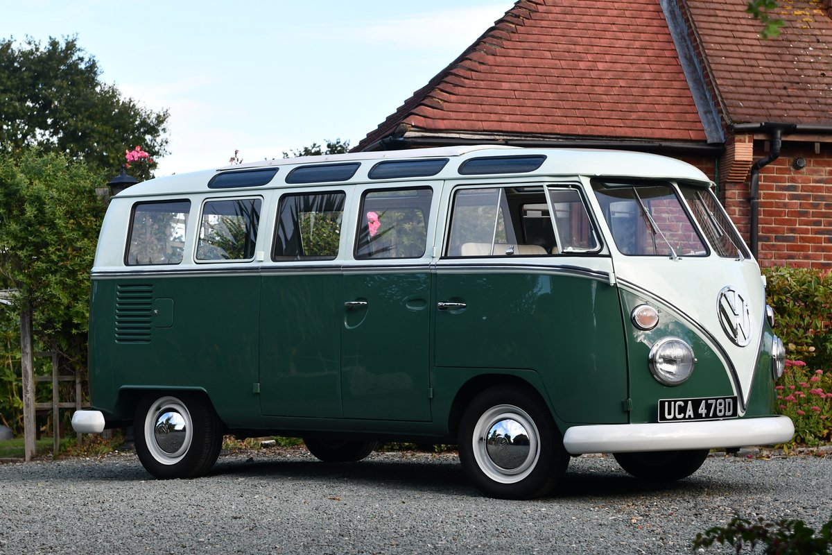 1966 VW Samba 21 Window Delux For Sale (picture 5 of 6)