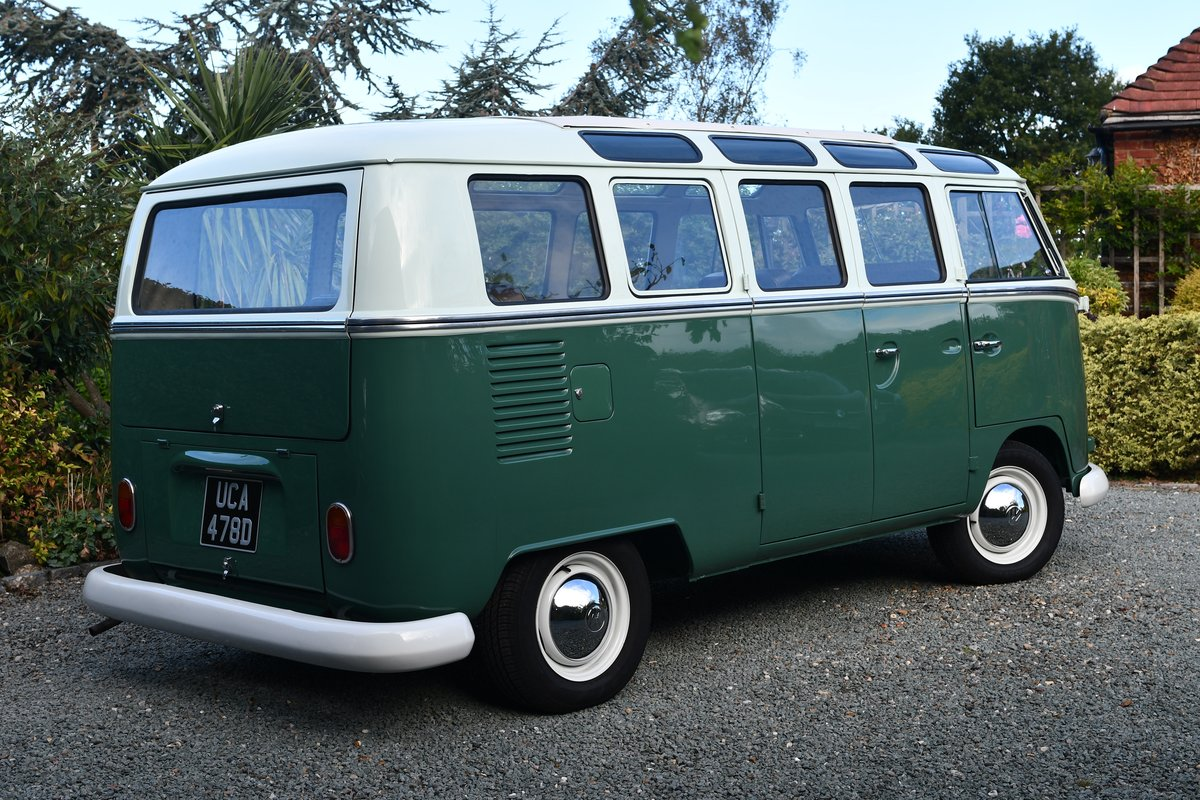 1966 VW Samba 21 Window Delux For Sale (picture 6 of 6)