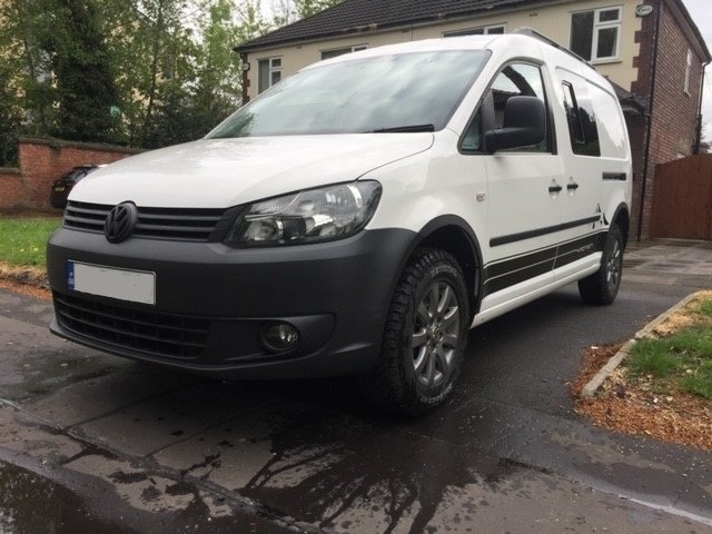 2013 VW Caddy 4Motion 4x4 Overland Camper FSH For Sale (picture 1 of 6)